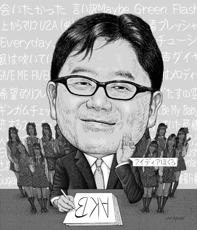 1.吉田沙保里さんの似顔絵